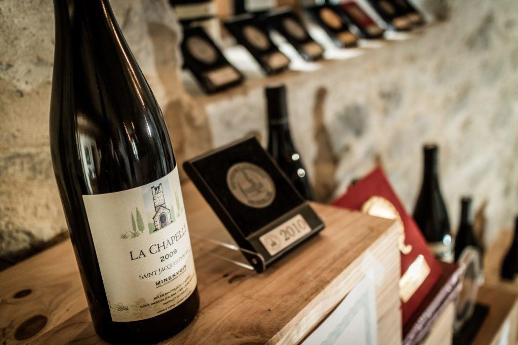 vin chateau St Jacques d albas laure Minervois Grand Carcassonne