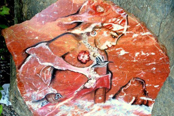 peinture sur marbre3